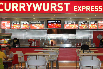 Currywurst Tenerife Airport