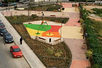 Jardín calle Lluís Martí