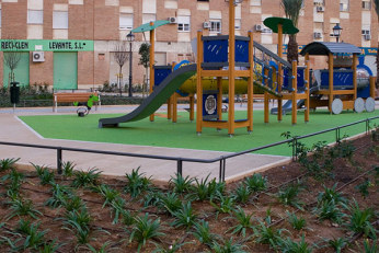 Jardín calle Manuel Laguarda